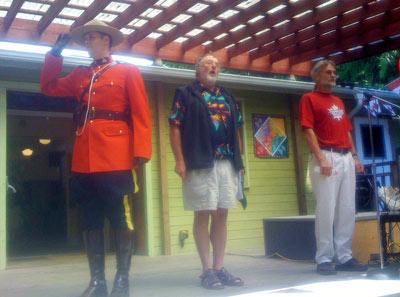 Singing Oh Canada!